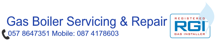 Gas Boiler Servicing & Repair. Phone: 057 8647351 Mobile:  087 4178603, Registered Gas Installer